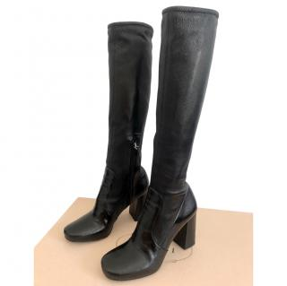 Prada Stretch Nappa Leather Long Boots