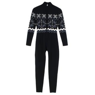 Perfect Moment Nordic Fair Isle merino ski jumpsuit