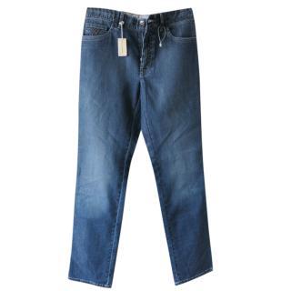 BRIONI men's blue jeans 32