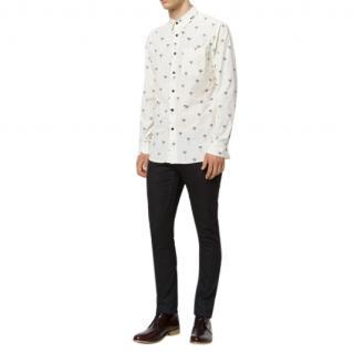 Rag & Bone Palm Tree Print Shirt