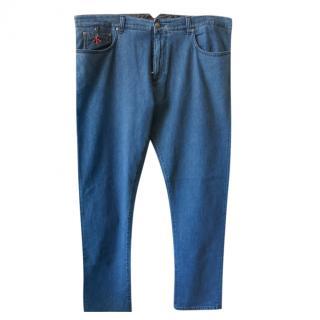 Isaia Napoli Mens Jeans