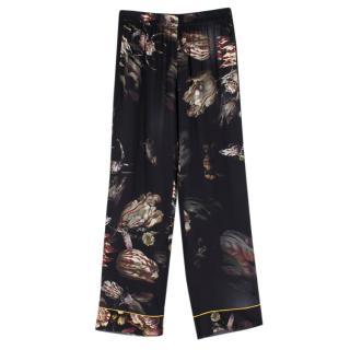 Morpho + Luna Ines Floral Silk Pyjama Bottoms