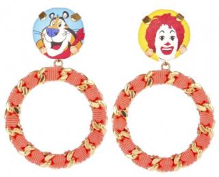 Bijoux De Famille Tony/Ronald Chain Hoop Earrings