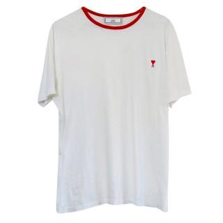 Ami White & Friend Heart Logo T-Shirt