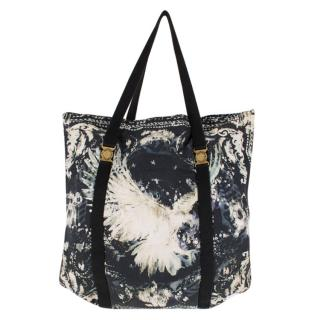 Balmain Sea Shade Beach Tote Bag