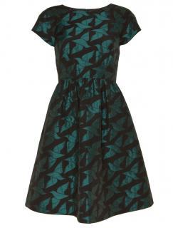 Alice by Temperley Bird Print Jacquard Dress