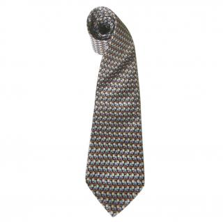 Carven Men's Toucan Print Silk Tie