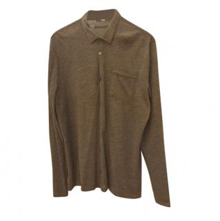 Z Zegna Wool Long Sleeve Top