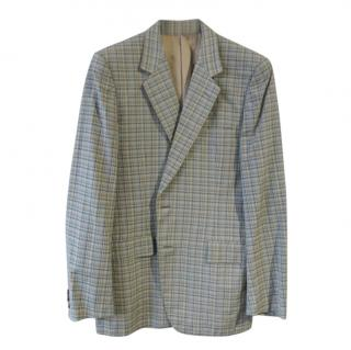 Vincci London Fine Wool Check Single Breasted Jacket