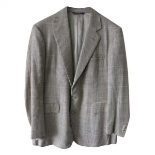 Polo Ralph Lauren Men's Silk Check Jacket