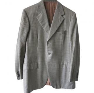 Brioni Men's Single Breasted Fine Wool Jacket