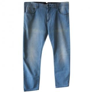 Isaia Men's Twill Jeans