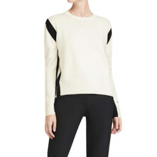 Victoria Victoria Beckham Cream Wool Sweater