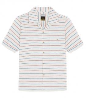 Percival Waffle Stripe Shirt
