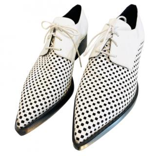 Stella McCartney pointed lace up oxford shoes