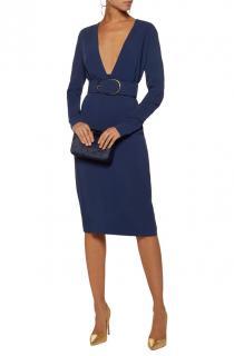 Stella McCartney Orion Blue stretch Simonetta Cady dress
