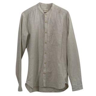 Oliver Spencer Men's Cotton Shirt