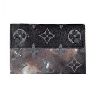 Louis Vuitton Galaxy Monogram Print Pochette Card Holder