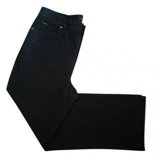 Escada Black Straight Leg Jeans
