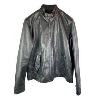 Polo Ralph Lauren Harrington Leather Jacket