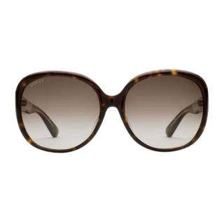 Gucci Oversize round-frame acetate sunglasses