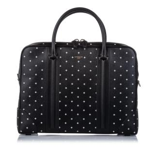 Givenchy Printed Leather Briefcase