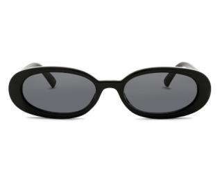 Adam Selman x Le Specs Black Outta love Sunglasses