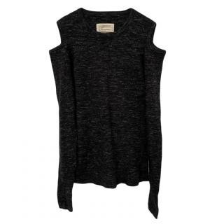 Current/Elliott Cold Shoulder Wool Top