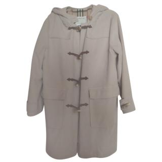 Burberry's Vintage Beige Duffle Coat