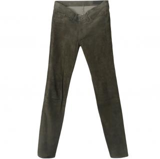 Rag & Bone Suede Stretch Pants