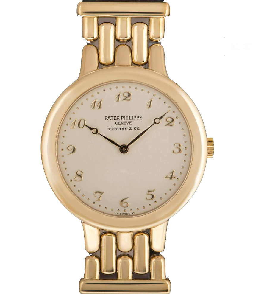 Patek Philippe x Tiffany & Co. Calatrava 18k Yellow Gold Watch