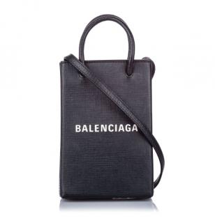 Balenciaga XXS Leather Shopping Tote