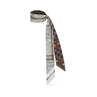 Louis Vuitton Time Trunk Studded Silk Bandeau