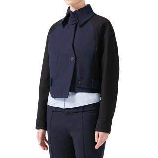 Sportmax Asymmetric Cut Box Jacket