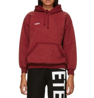 Vetements Red Inside-Out Logo Hoodie
