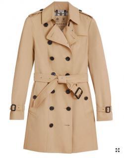 Burberry Sandringham Mid-length Trench Coat