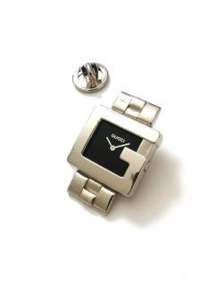 Gucci vintage G lapel pin watch