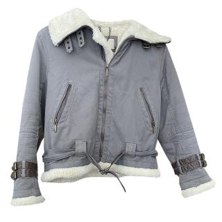 Burberry Kid's flight jacket age 14/ladies UK8