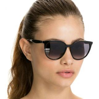 Celine Tortoiseshell Oversize Sunglasses