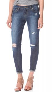 Paige Verdugo Ultra Skinny Blue Distressed Jeans