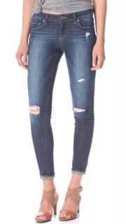Paige Verdugo Ultra Skinny Blue Distressed Jeans