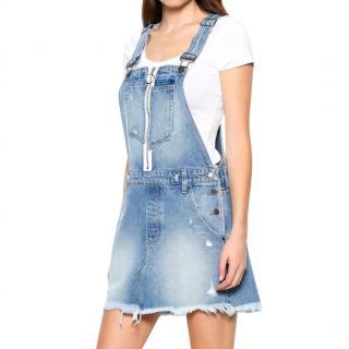 Hidden Jeans Denim Pinafore Dress