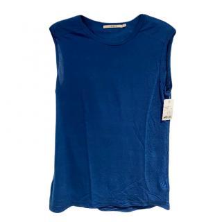 J Brand Navy Blue Vest