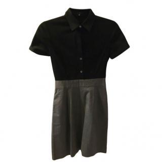 Theory Colourblock Shirt Dress