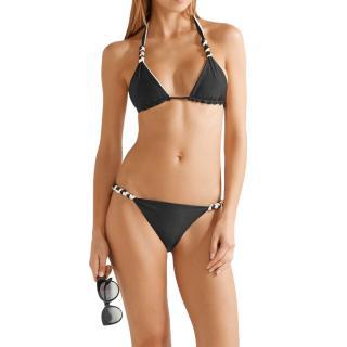 ViX Paula Hermanny Solid reversible triangle bikini