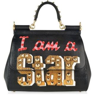 Dolce & Gabbana Special Edition 'I'm a star' Sicily Bag