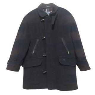 Burberry's Vintage Black Duffle Coat