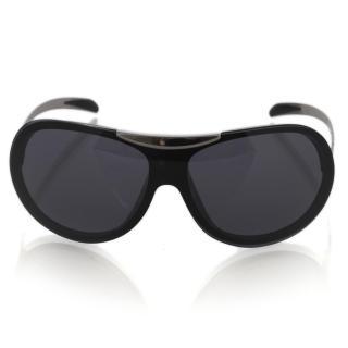 CHANEL 6006 Aviator Black Sunglasses