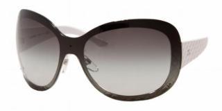 Chanel White 4165 Shield Sunglasses