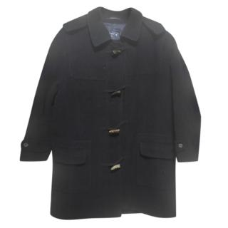 Burberry's Black Vintage Duffle Coat